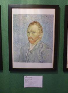 Pinacothèque Jesse Guelfi - Aula particular de inglês com Arte - Self-Portrait