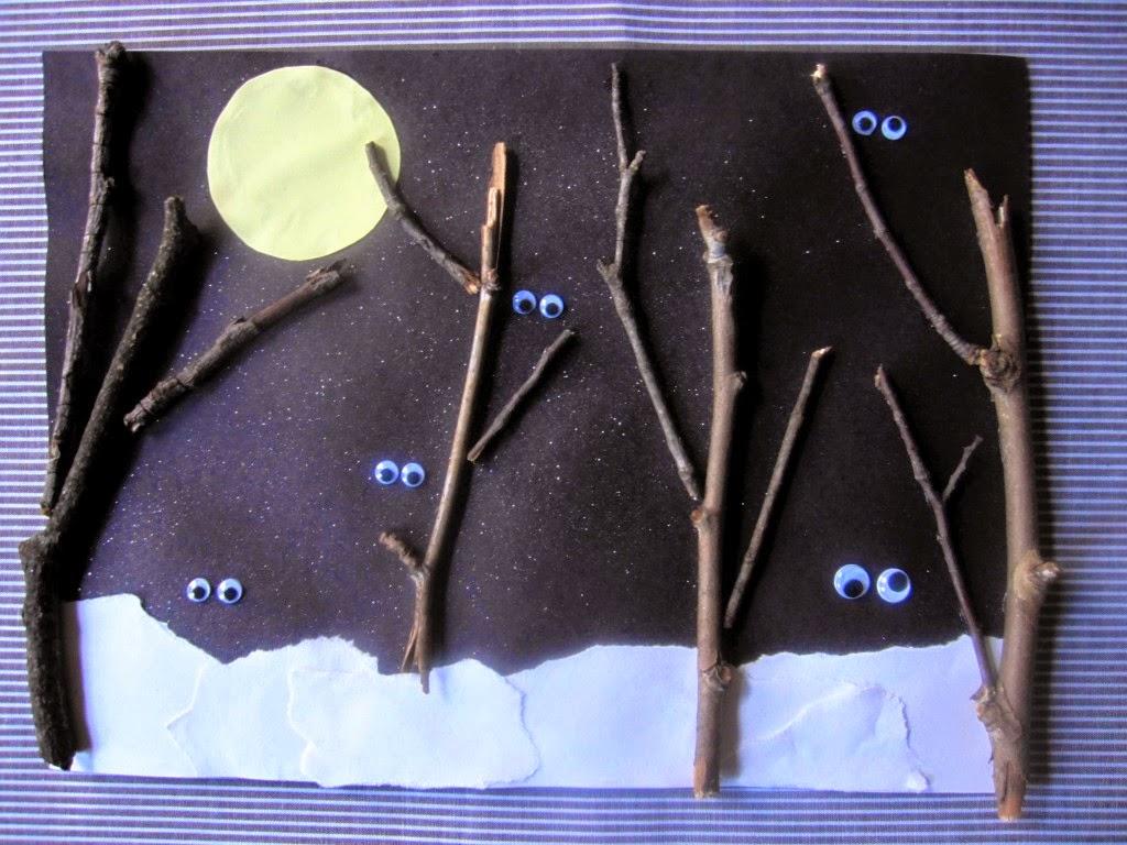 Okuloncesi Sanat Ve Fen Etkinlikleri Gece Cal Mas