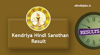 Kendriya Hindi Sansthan Result