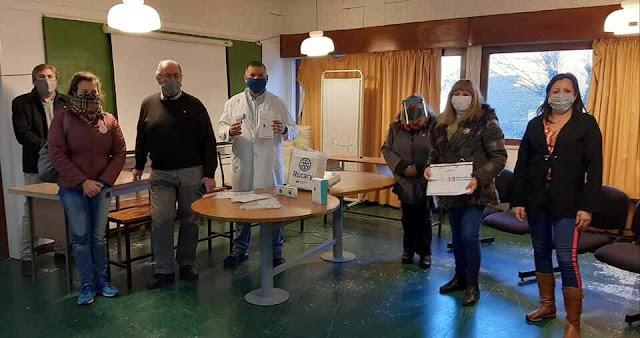 """El Club Rotario realizó una donación al Hospital """"Fossati"""""""