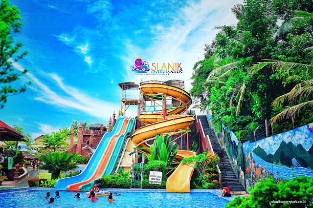 Alamat dan Tiket Masuk Slanik Waterpark Lampung Terbaru 2020