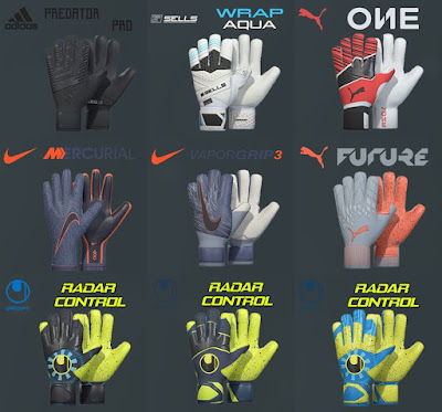 PES 2019 / PES 2018 Mini Glovepack 2019 by Tisera09