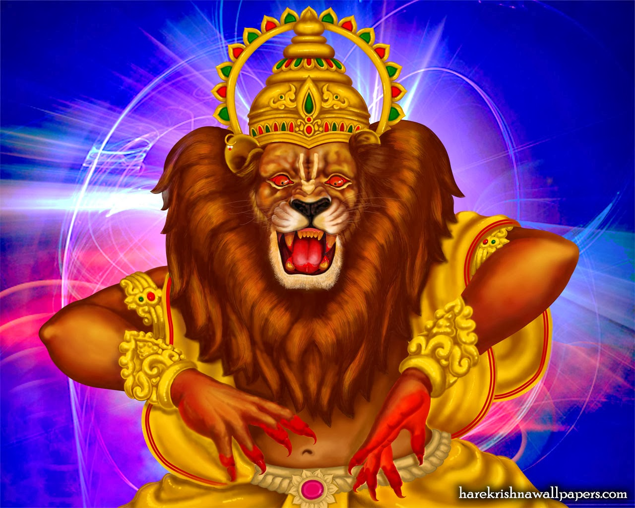 Sai Baba Animated Wallpaper For Mobile Narasimha Wallpapers Hindu God Wallpaper