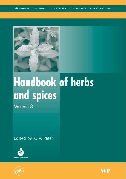 Handbook of Herbs and Spices, Volume 3