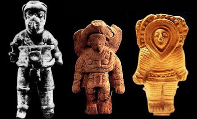 Evidence of Ancient Aliens and astronauts influencing humans.