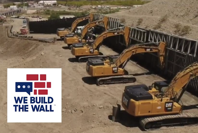 """EXCLUSIVE VIDEO: """"We Build the Wall"""" Completes First Half Mile of US Border Wall in 4 Days from Private Donations"""