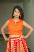Shubhangi Bant in Orange Lehenga Choli Stunning Beauty ~  Exclusive Celebrities Galleries 071.JPG
