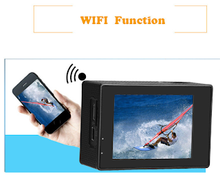 pro cam wifi 4k action camera