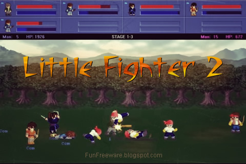 Little Fighter 2 FunFreeware Splash Image