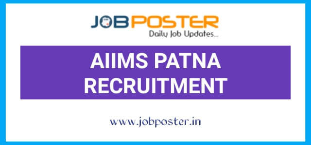 AIIMS Patna Senior Resident Recruitment 2020
