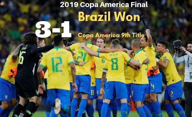 Brazil vs Peru Copa America Final