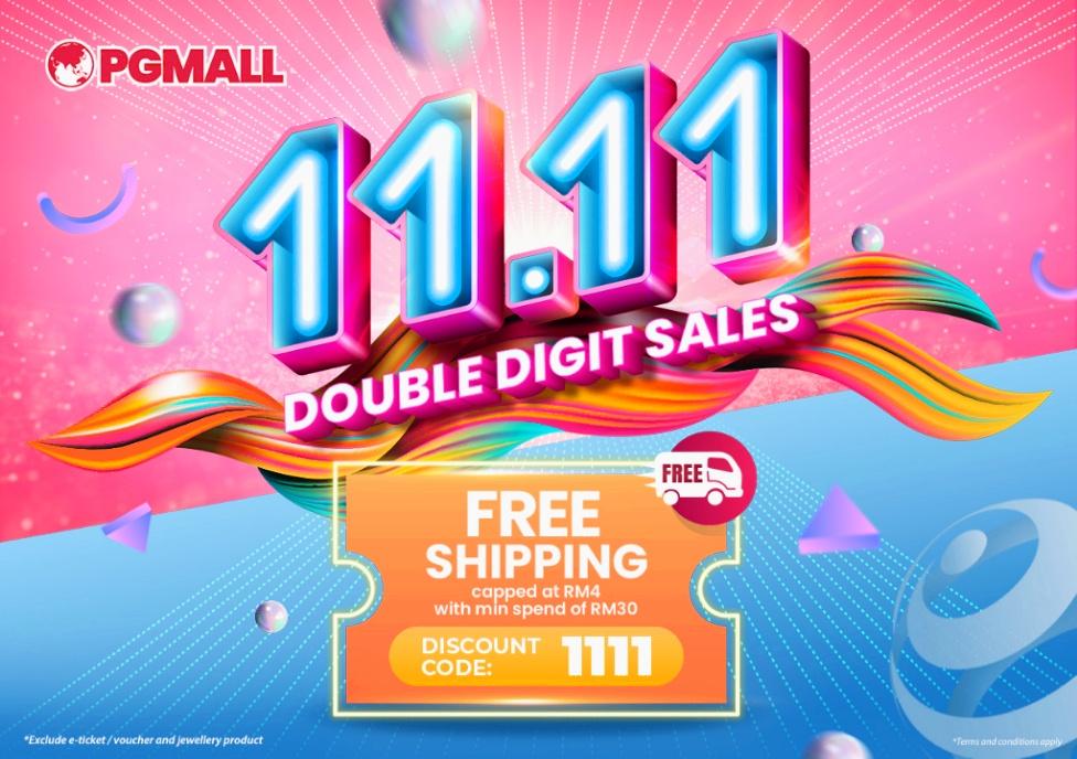 PGMall Big Brand Pre Sales 11.11 Menampilkan Jenama Terkenal Seperti Nestle, Khind Dengan Diskaun Dan Hadiah Misteri Buat Pembeli