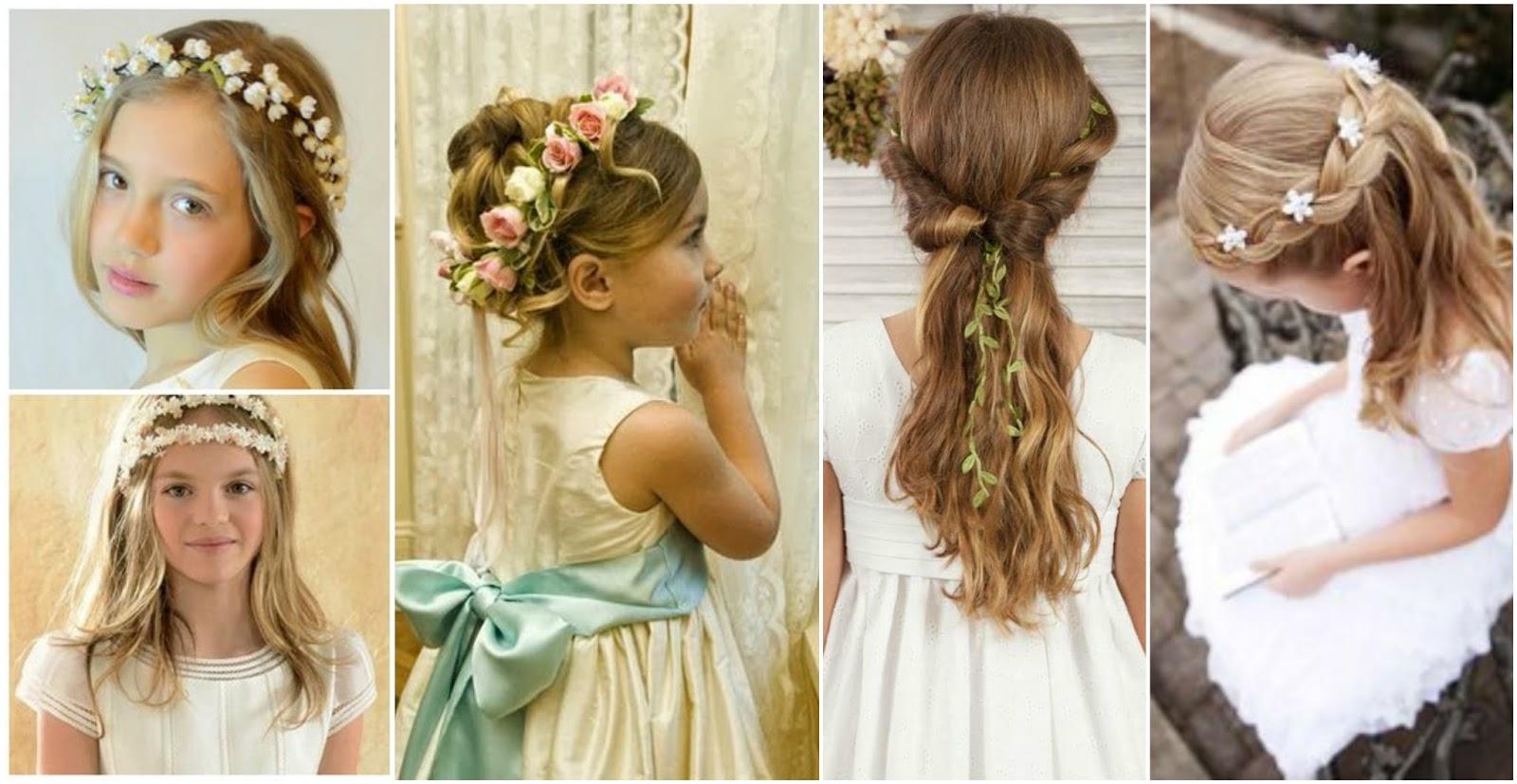 Miradas ganadoras con peinados para niñas de comunion Fotos de consejos de color de pelo - 17 Modelos y tutorial para hacer peinados para niñas de ...