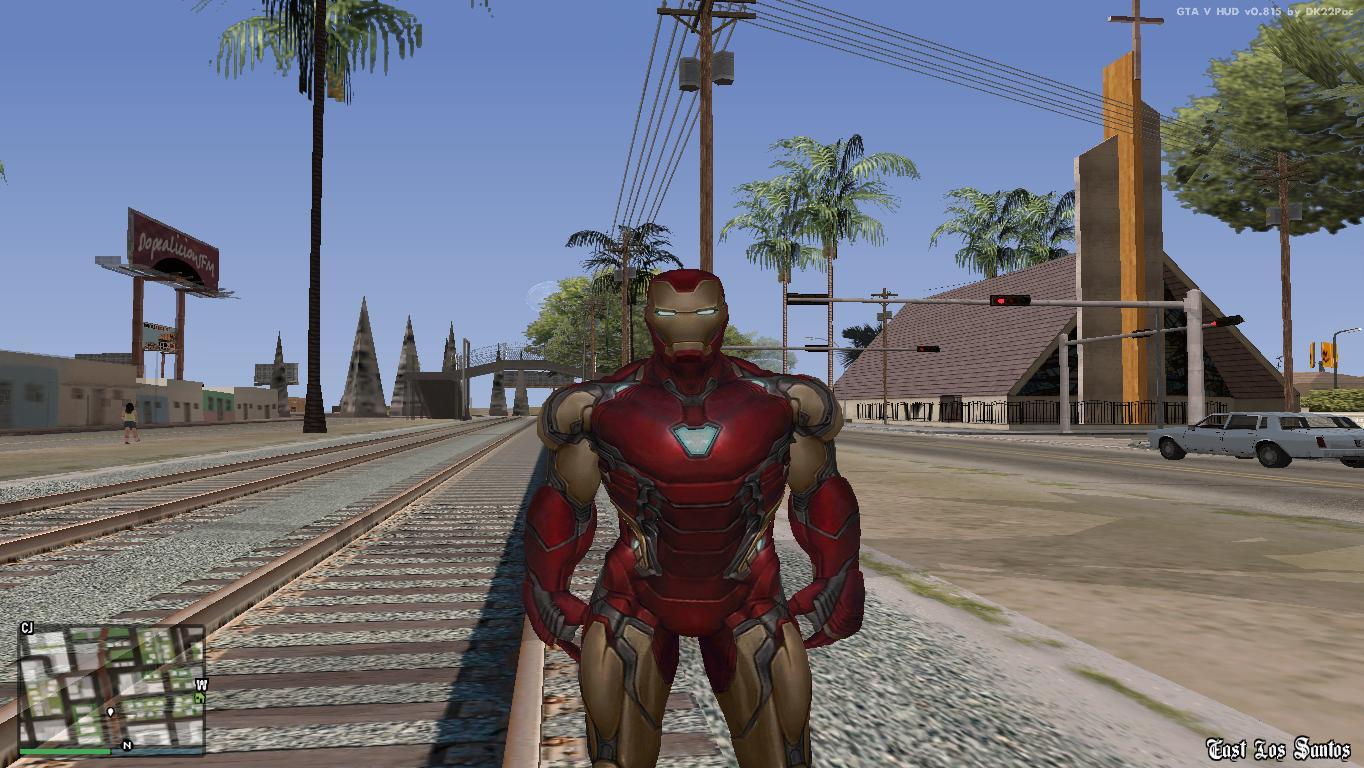 Gta san andreas ironman mod cleo android | GTA: San Adreas