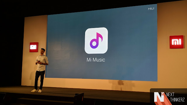 Xiaomi launches their new Mi Music and Mi Video app
