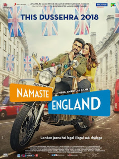Namaste England (2018) Official Poster