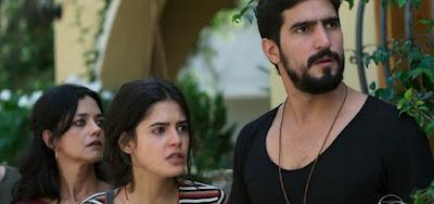 Órfãos da Terra: Laila e Jamil são  detidos pela polícia após tiro em Aziz