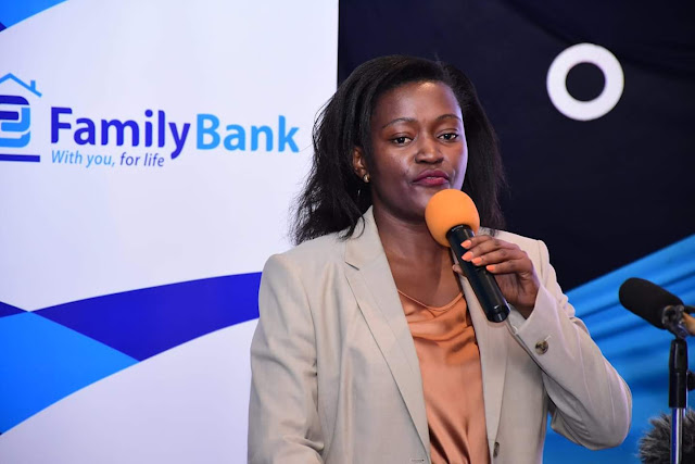 Family Bank CEO Rebecca Mbithi