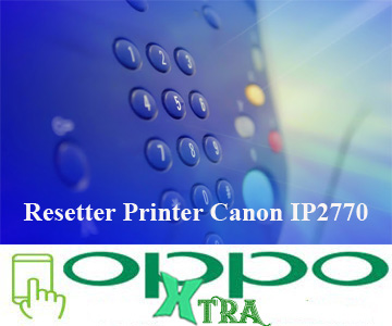 Resetter Printer Canon IP2770