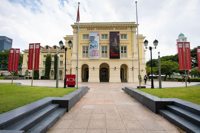 Empress Place Building-Asian Civilization Museum-Padang (Quartiere coloniale)-Singapore