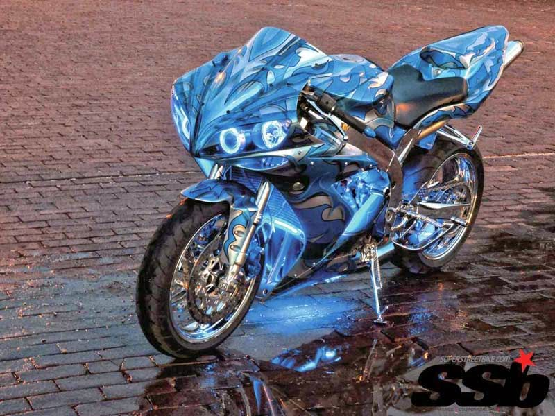 Koleksi Gambar Modifikasi Motor Sport Yamaha R1 Terbaru Bro Omen