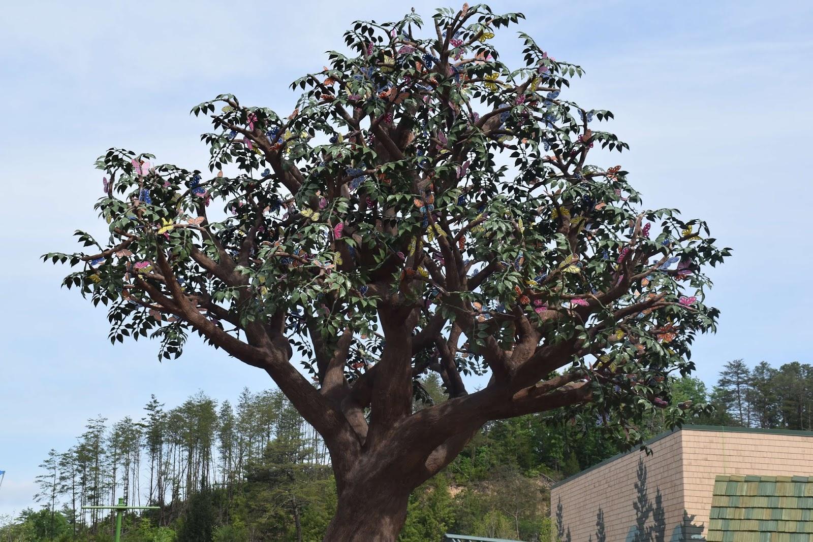 Wildwood Tree at Wildwood Grove inside of Dollywood