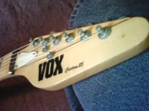 Craigslist Vintage Guitar Hunt: Vox Custom 25 Electric in ...