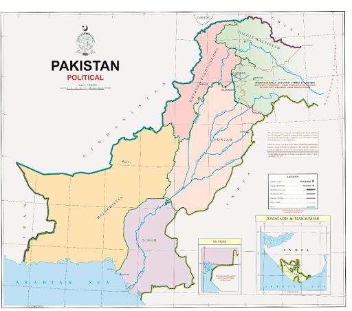 पाकिस्तान एक नया राजनीतिक मानचित्र जारी करता है: आप सभी को जानना आवश्यक है  |  Pakistan issues a new political map: All you need to know in hindi