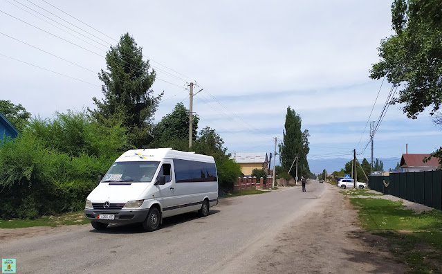 Marshrutka en Kirguistán