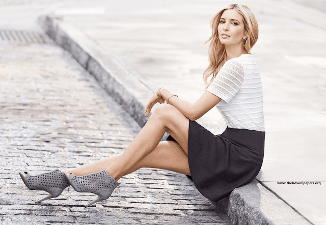 Ivanka Marie Trump American Business Woman Former fashion Model Hd Wallpaper Photo & Picture