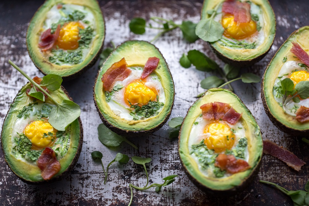 Baked Egg Avocado And Watercress Boats: Great For Brunch