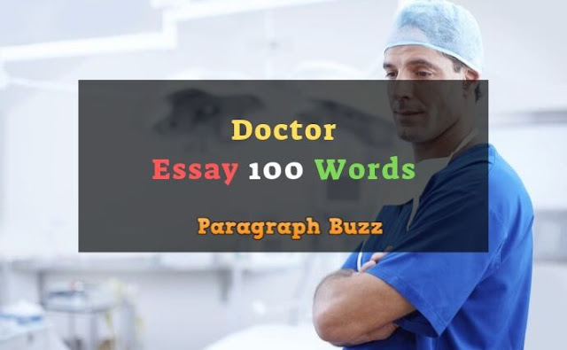 Essay on Doctor 100 Words
