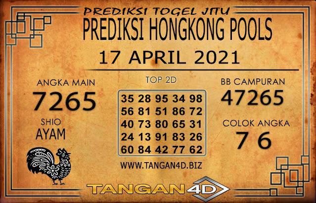 PREDIKSI TOGEL HONGKONG POOLS TANGAN4D 17 APRIL 2021