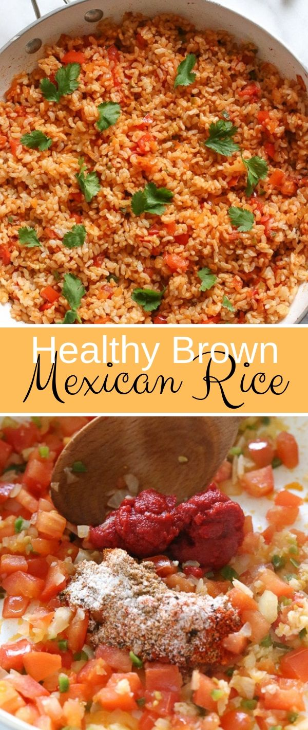 Healthy Brown Mexican Rice #Healthy #Brown #Mexican #Rice Healthy Recipes Easy, Healthy Recipes Dinner, Healthy Recipes Best,