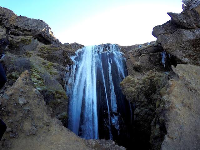 wodospad Gljúfrabúi  marzec
