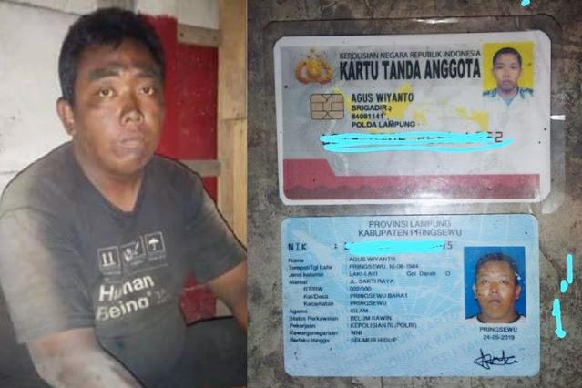 Foto Seorang Pria Viral yang Terlantar di Merak Selama 10 Hari, Ternyata Anggota Polisi