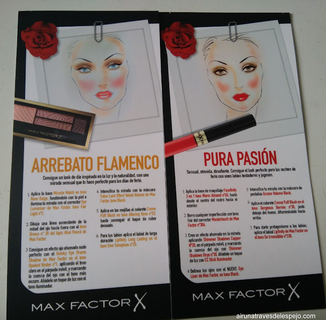 look pura pasión arrebato flamenco max factor