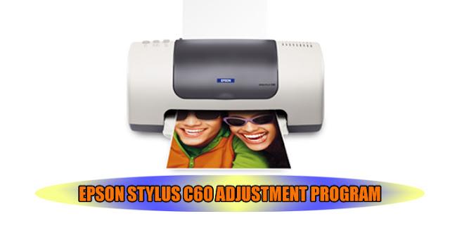 Epson Stylus C60 Printer Adjustment Program