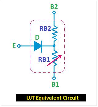 UJT equivalent circuit