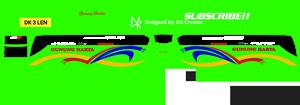 livery gunung harta hijau mod jb3 plus shd by mn