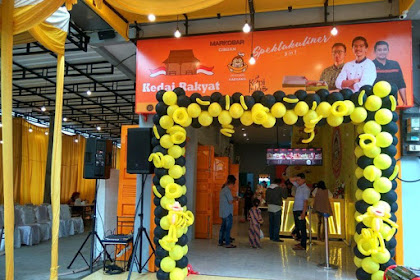 Installasi Background Musik di Kedai Rakyat Medan