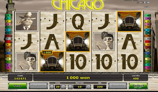 chicago casino slot oyunu