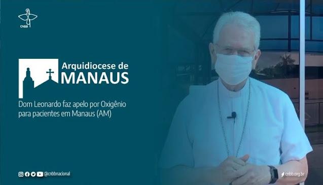 Clamor de socorro de dom Leonardo Steiner escancara situação crítica da capital do Amazonas, atingida em cheio pela segunda onda de covid-19