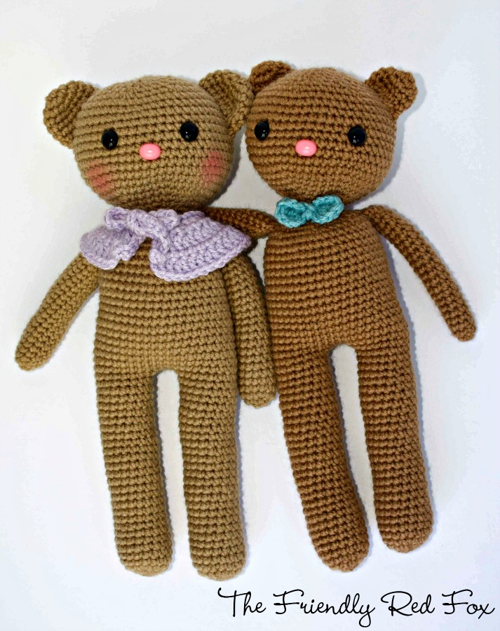 Free Crochet Bear Patterns - Amigurumi Patterns ⋆ DIY Make To | 900x713