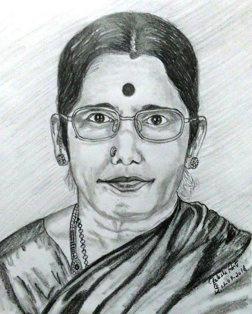 Artist Premavathi Varatharajan