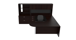 AM-377 Cherryman Amber Executive Desk