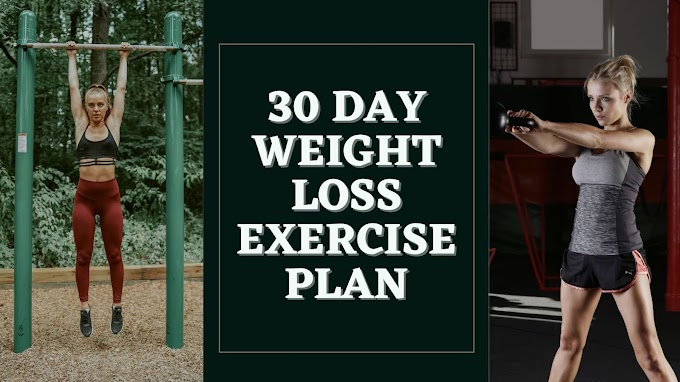 30 Day Weight Loss Exercise Plan | 30 Days Weight Loss Challenge