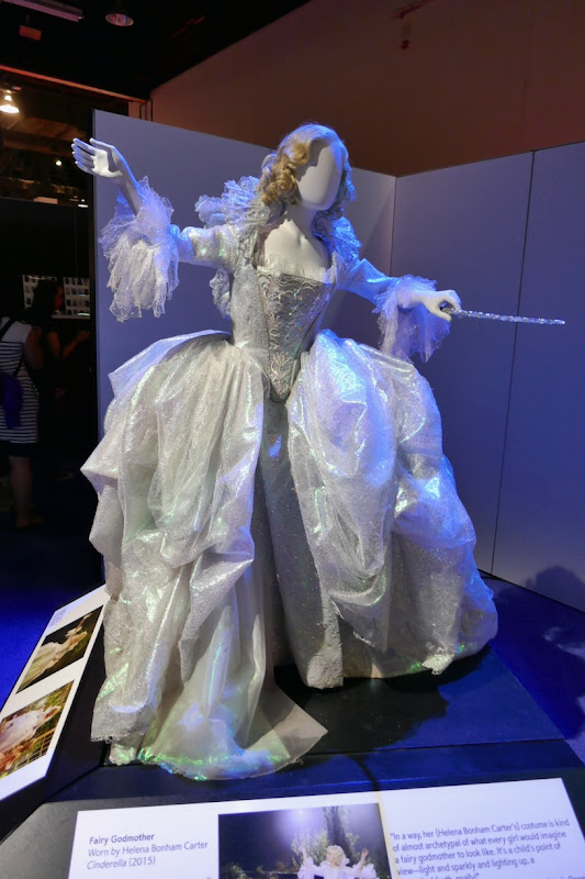 Helena Bonham Carter Fairy Godmother costume Cinderella