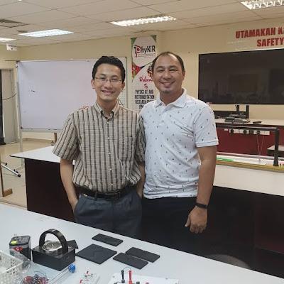 Berbaloi Sungguh Kunjungan ke Makmal Phykir UPSI