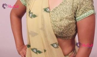 How to Wear Gujarati Style Saree   New look